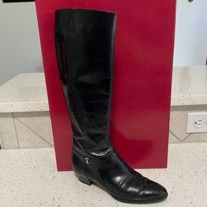 Salvatore Ferragamo Vintage Riding Boots Size 6.5